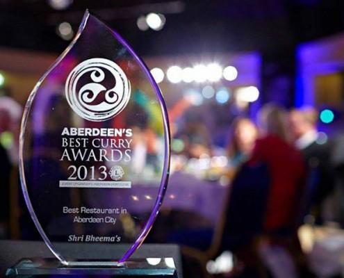 Aberdeen best curry award 2013