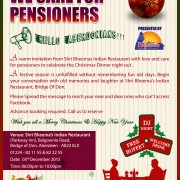 Pensioners night 2015